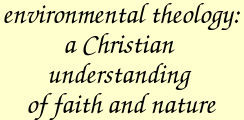 Environmental theology: A Christian understanding of faith and nature